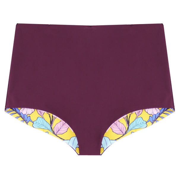 The NAVA Reversible Bikini Bottoms - Medallion & Fig