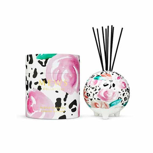 Blush Peonies Ceramic Diffuser 350ml