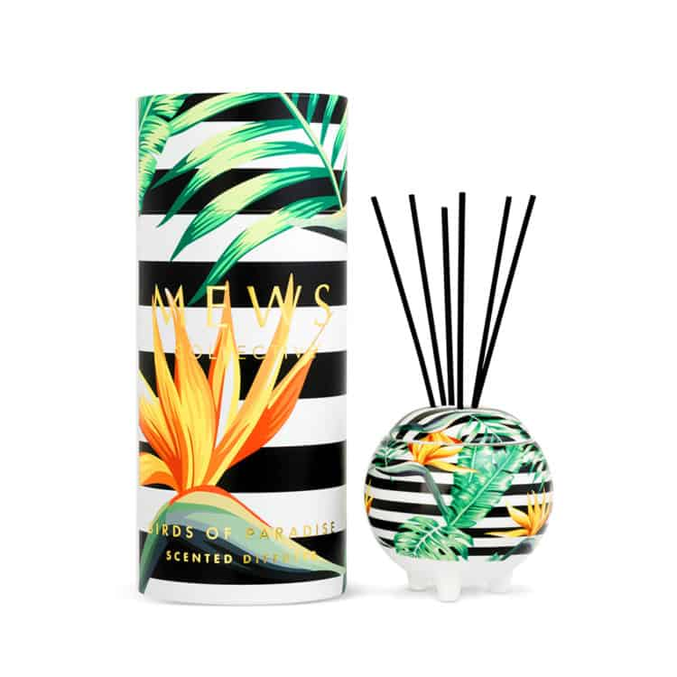 Birds of Paradise Mini Ceramic Diffuser 100ml