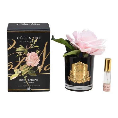 Perfumed Natural Touch Single Rose - French Pink