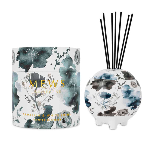 Camellia & White Lotus Ceramic Diffuser 350ml
