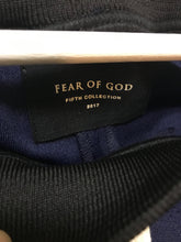 Fear of God 5th Collection Track Pants- Navy/Cream