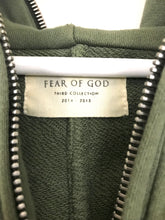 Fear of God 3rd Collection Half Zip Hoodie- Olive (Barney's Exclusive)