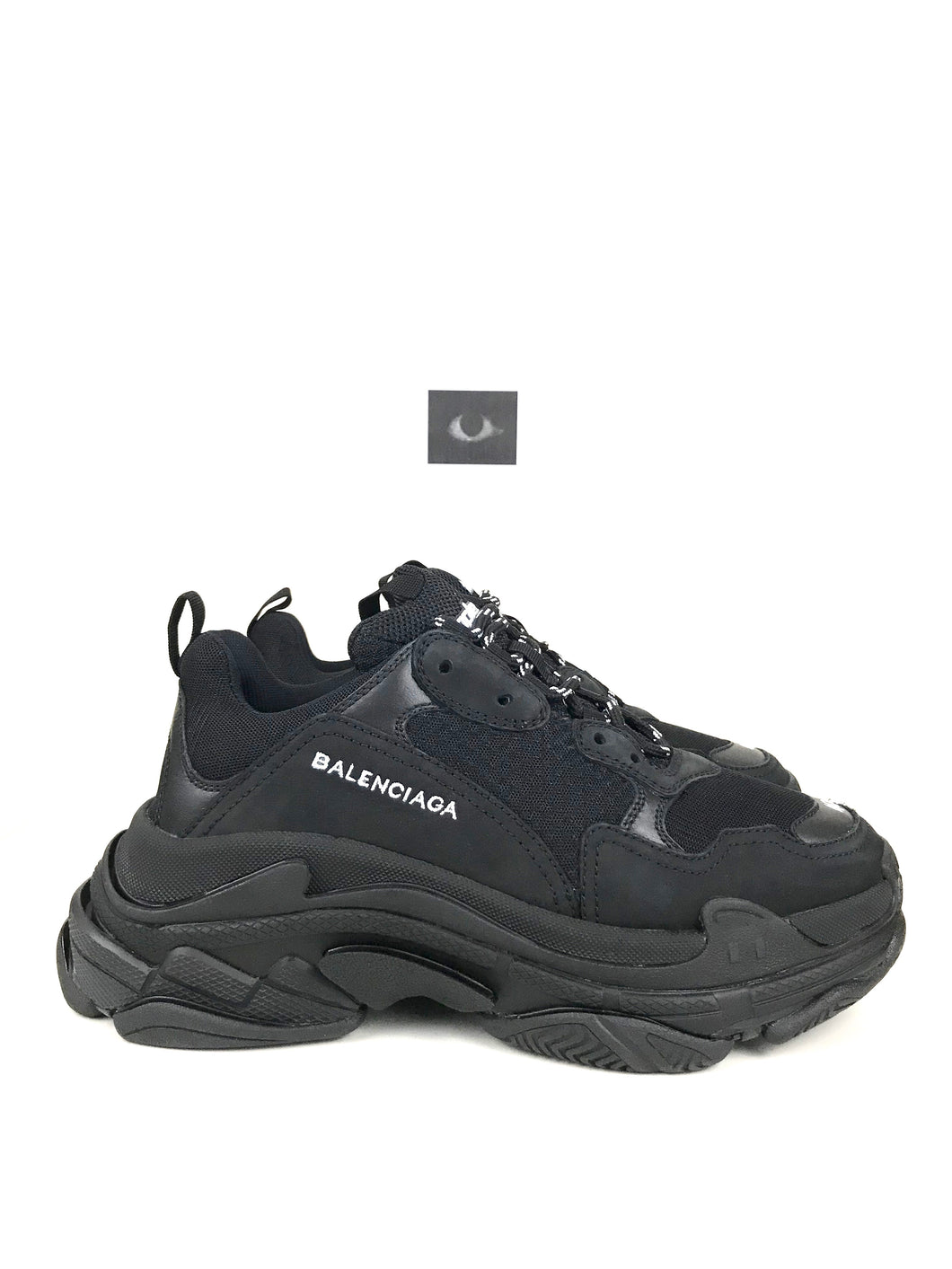Balenciaga Triple S Sneakers F/W17 - Clean Black (Made in Italy)