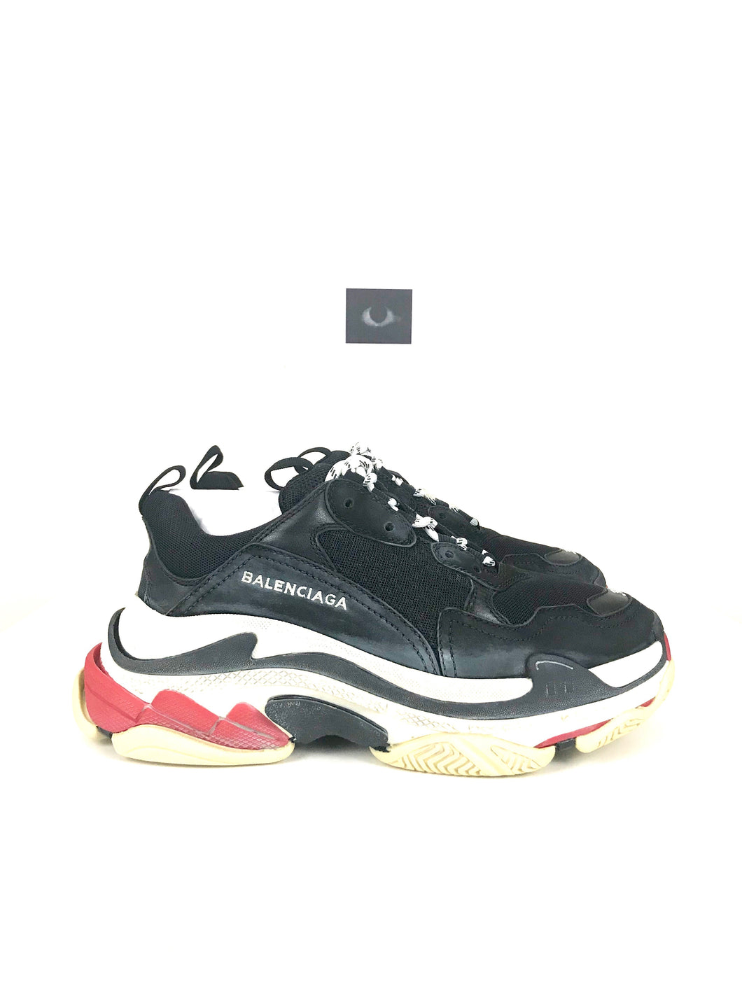 Balenciaga Triple S Sneakers F/W17 - Black/Red (wmns)