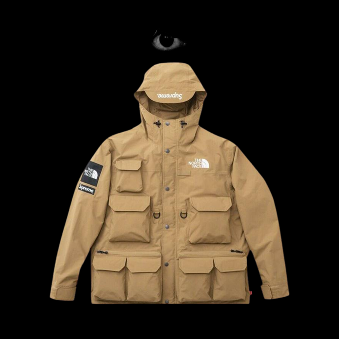 Supreme x The North Face Cargo Jacket- Beige