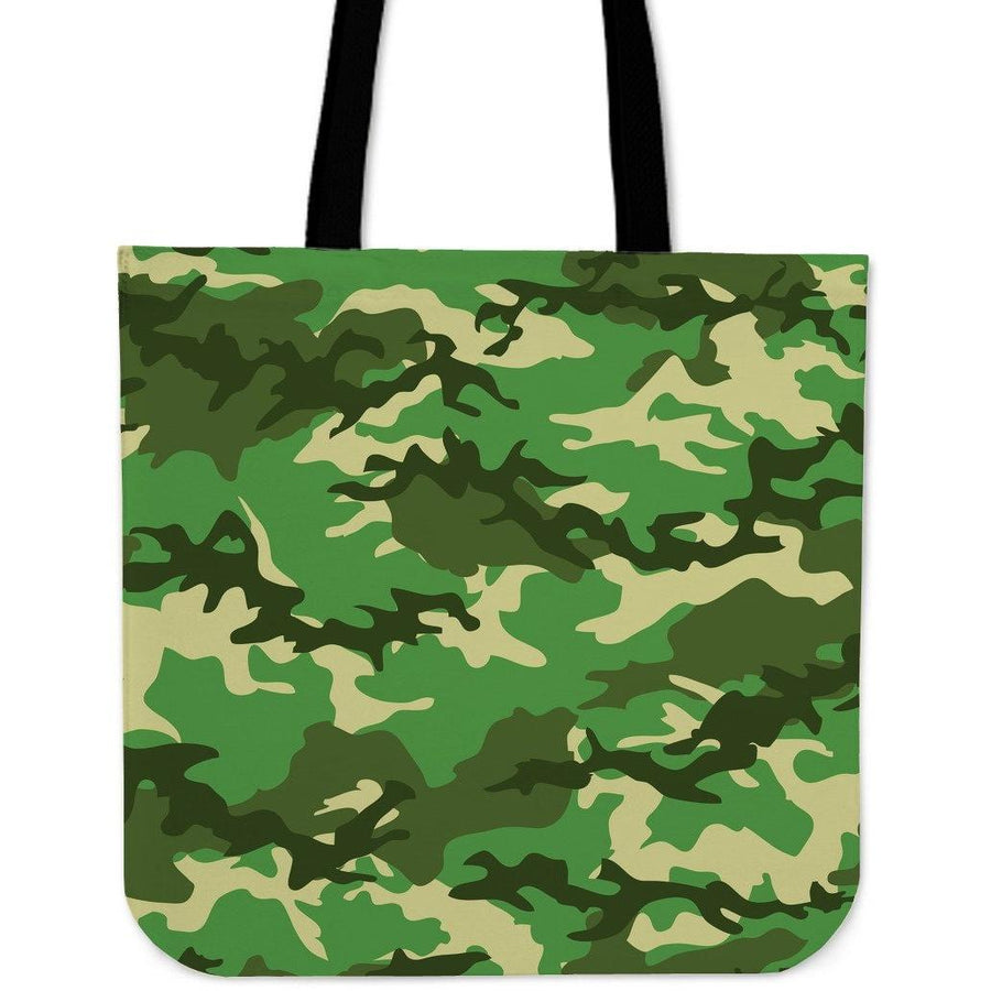 Bag - Camouflage Jungle - Cloth Tote Bag