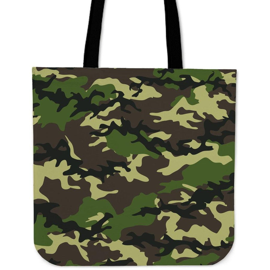 Bag - Camouflage Woodland - Cloth Tote Bag