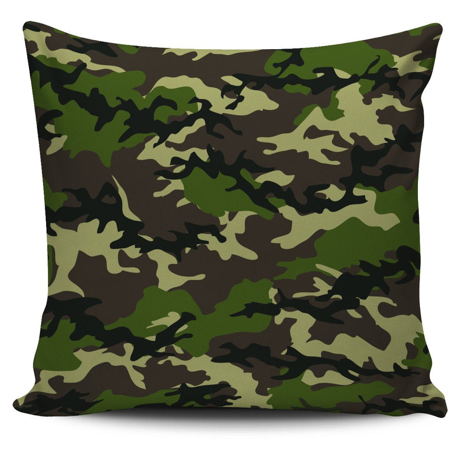 Pillow Cover - Camouflage Woodland - Pillow/Cushion Cover