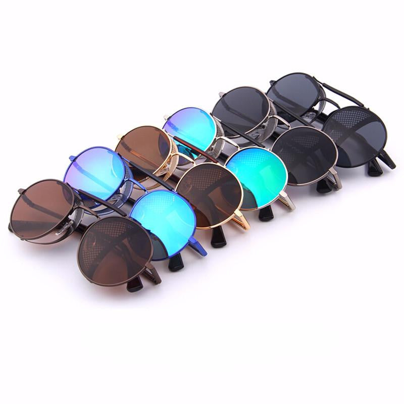 Sunglasses - Retro Design Steampunk Sunglasses