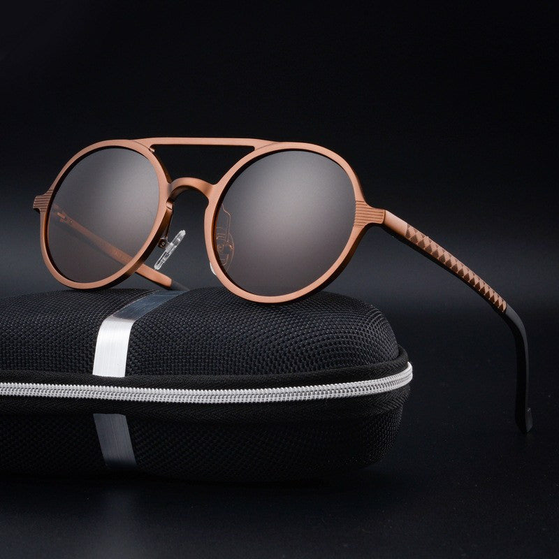 Sunglasses - Retro Round Designer Polarized Sunglasses