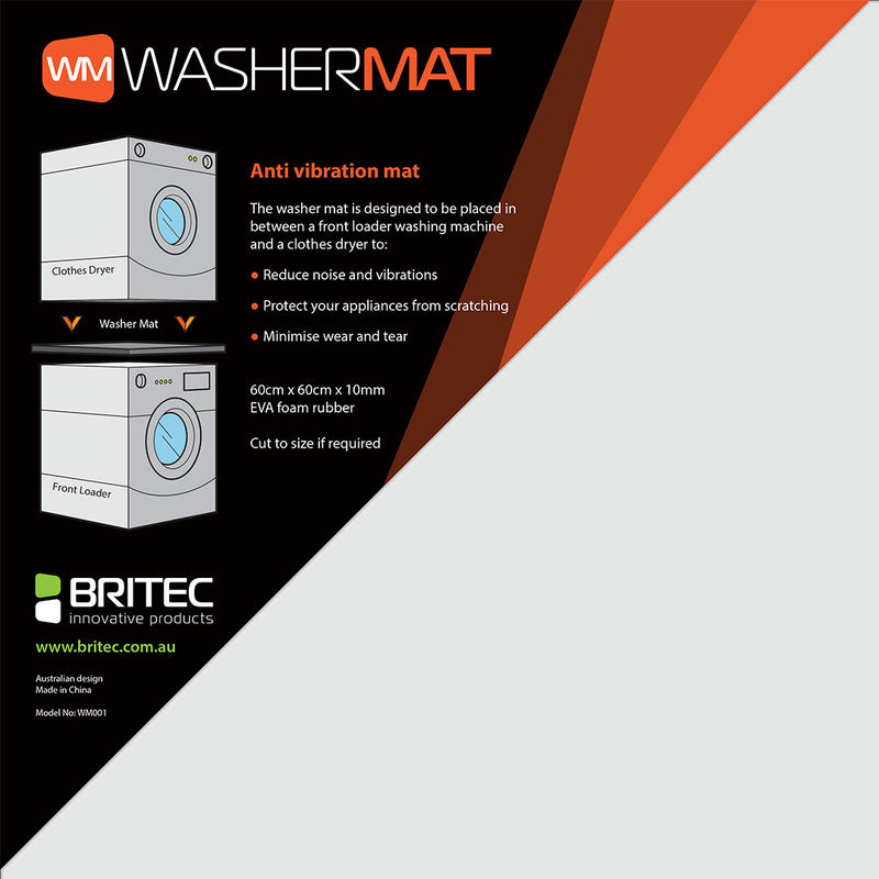 Washer Mat - Britec Innovative Products