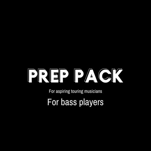 PREP PACK FOR BASS PLAYERS