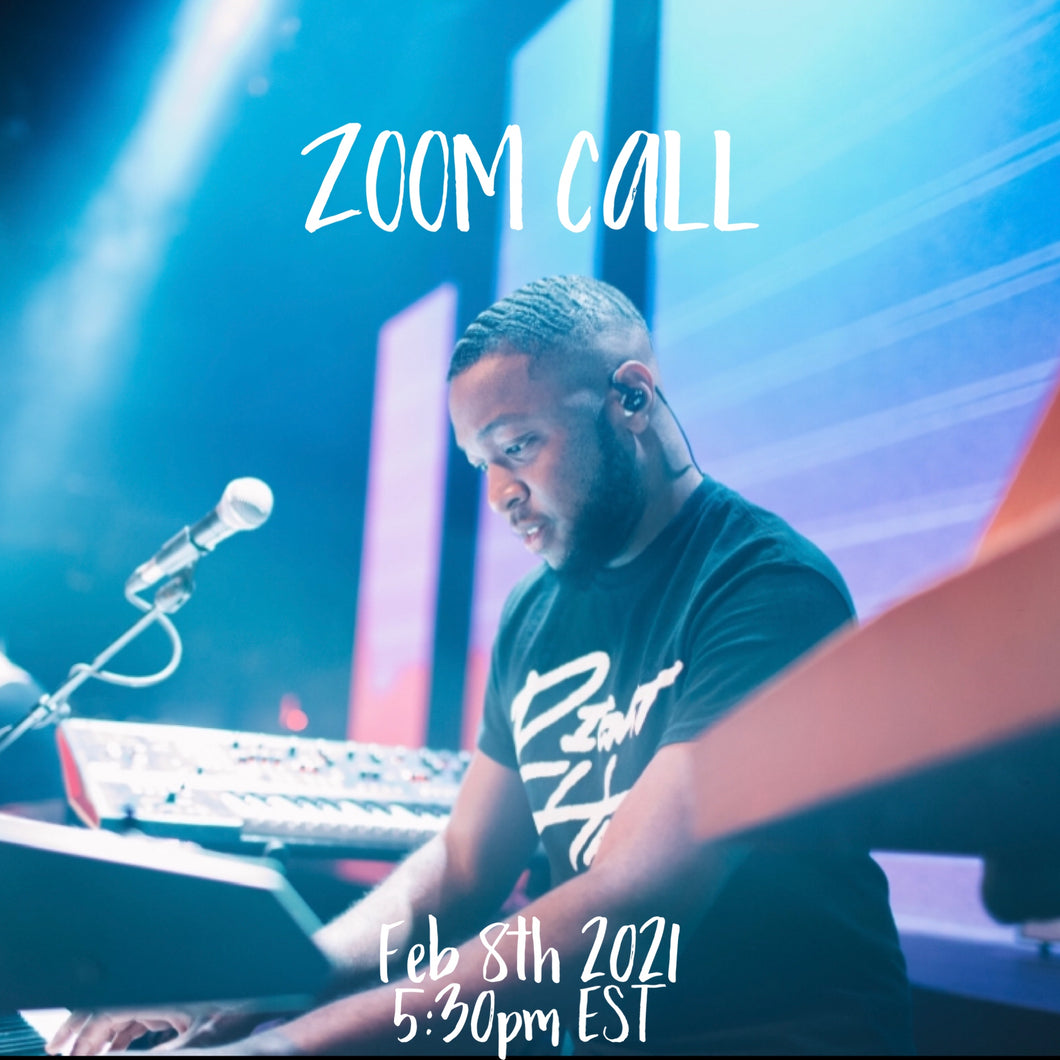 ZOOM CALL/ARRANGEMENT REVIEW  (FEB 8TH 5:30PM)