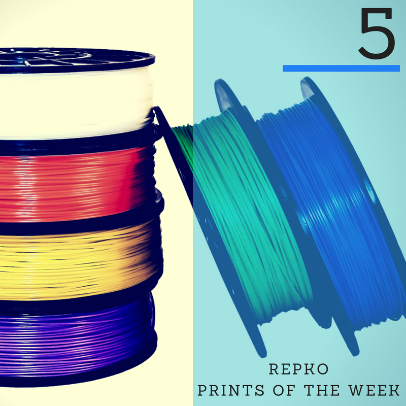 Repko's Top 5 Useful Everyday Prints of the Week