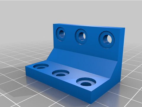 Downloadable 90-Degree Angle Bracket 3D Printing File