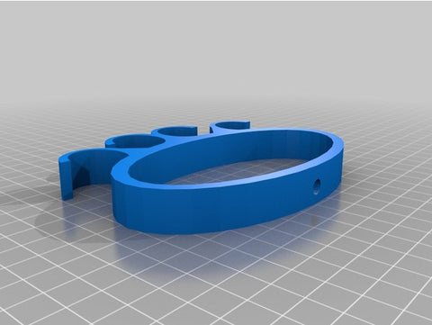Downloadable Grocery Bag Carrier 3D Printing File
