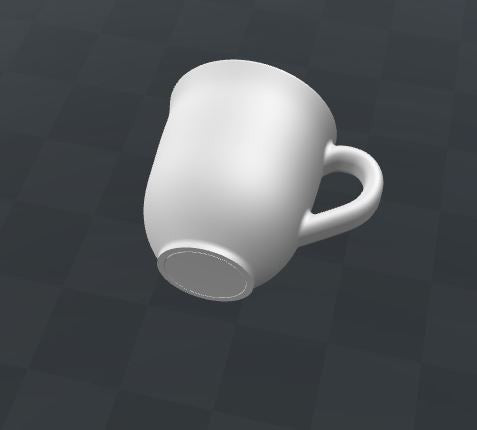 Downloadable Cup 3D Printing File