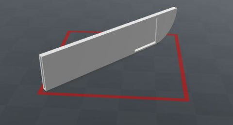 Downloadable Knife Sheath 3D Printing File