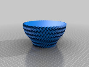 Downloadable Salsa Dish 3D Printing File