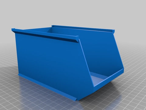 Downloadable Stackable Storage Box 3D Printing File