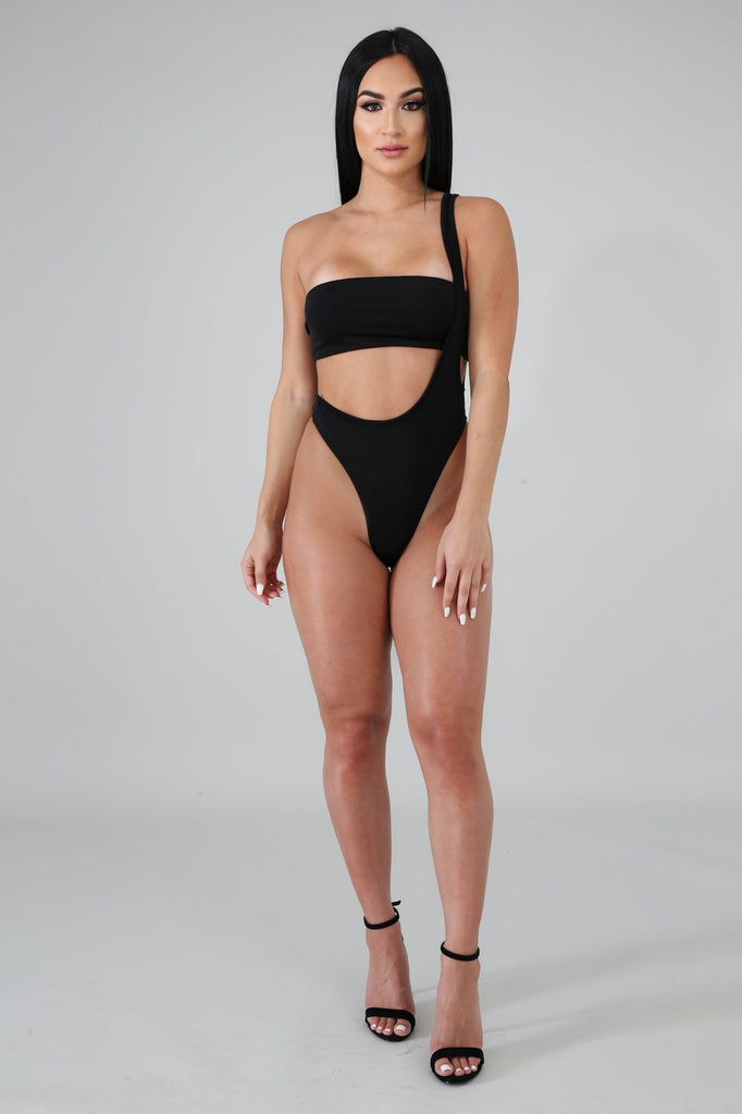 Not Your Basic Overall Swim Set