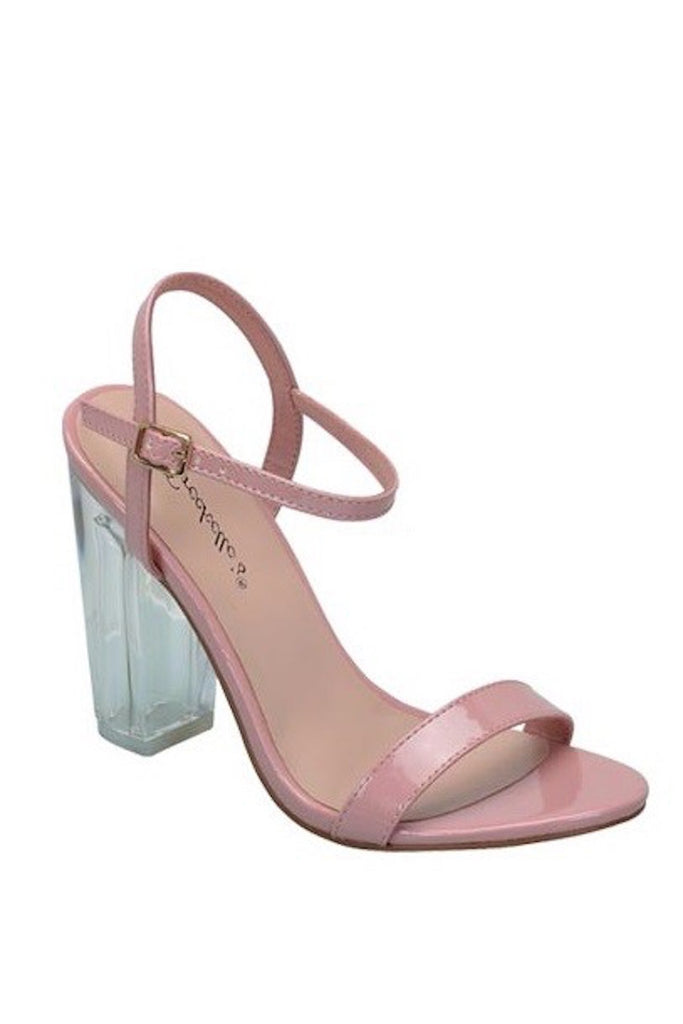 Emmie Blush Pink Single Sole Heel