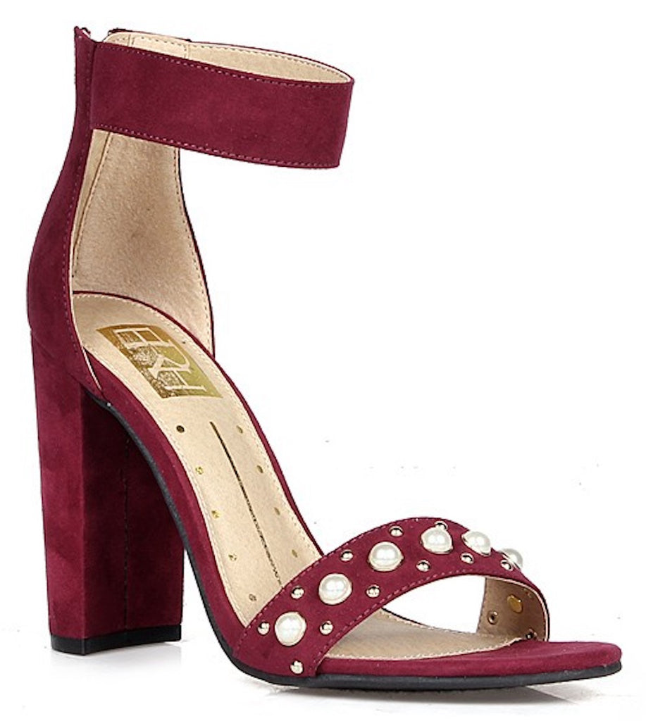 Rosa Wine Single Sole Heel
