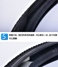 Anti-puncture tire liner parts pad kit.