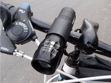Bicycle Front LED Light 7 Watt 2000 Lumens + Torch Holder Accessories