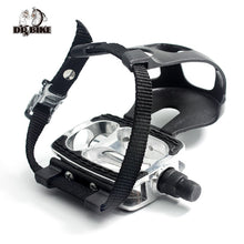 "Dr. Bike's 9/16 "" Bike Pedals With Toe Clips And Strap Accessories"