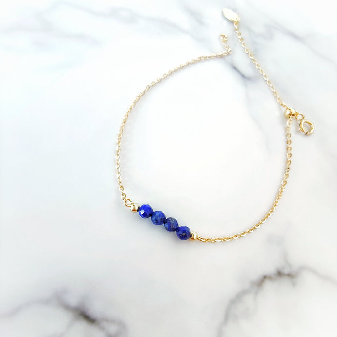 Briella Bracelet (Lapis Lazuli), Bracelets - Thoughts Accessories