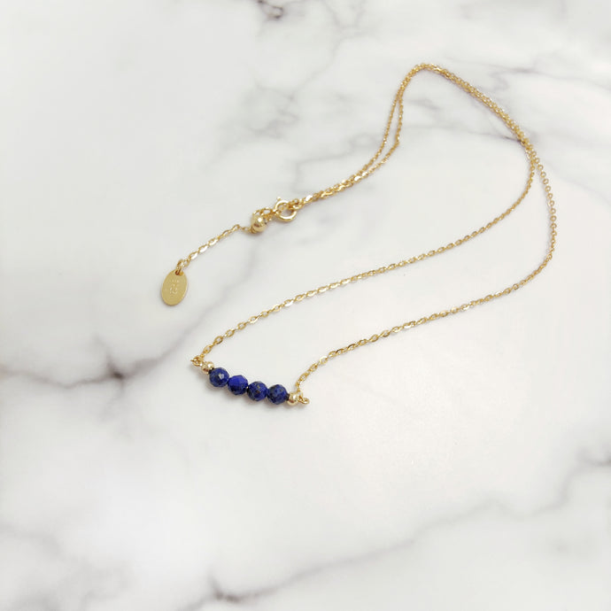Briella Necklace (Lapis Lazuli), Bracelets - Thoughts Accessories