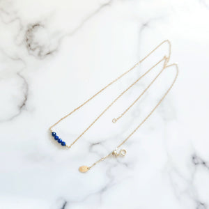Briella Necklace (Lapis Lazuli) - Thoughts Accessories