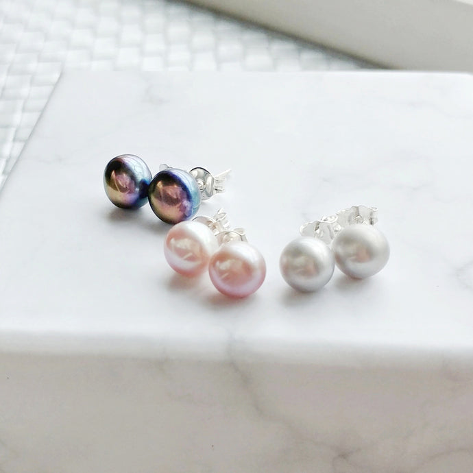 Solo Earrings (4/6/7mm), Earrings - Thoughts Accessories
