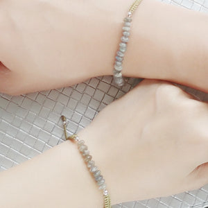 Protection Mother and Daughter Matching Gemstone Braided Bracelets, Bracelets - Thoughts Accessories