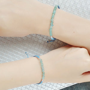 Hope Mother and Daughter Matching Gemstone Braided Bracelets - Thoughts Accessories