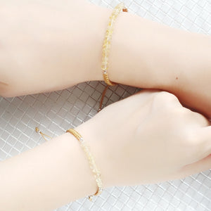 Radiance Mother and Daughter Matching Gemstone Braided Bracelets, Bracelets - Thoughts Accessories
