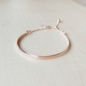 Alexandra Rose Gold Bracelet,  - Thoughts Accessories
