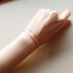 Eden Rose Gold Bracelet - Thoughts Accessories
