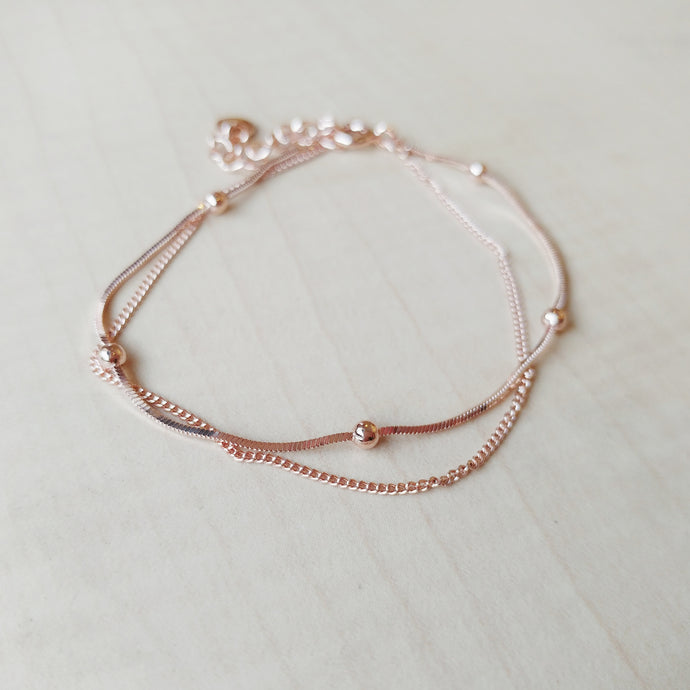 Eden Rose Gold Bracelet,  - Thoughts Accessories