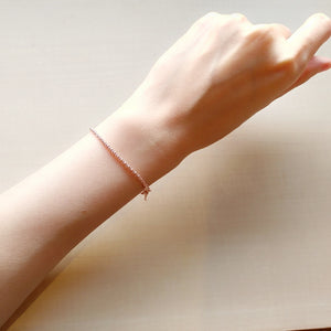 Bonica Rose Gold Bracelet,  - Thoughts Accessories