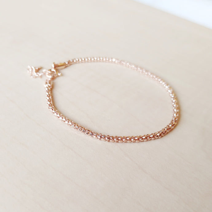 Bonica Rose Gold Bracelet - Thoughts Accessories