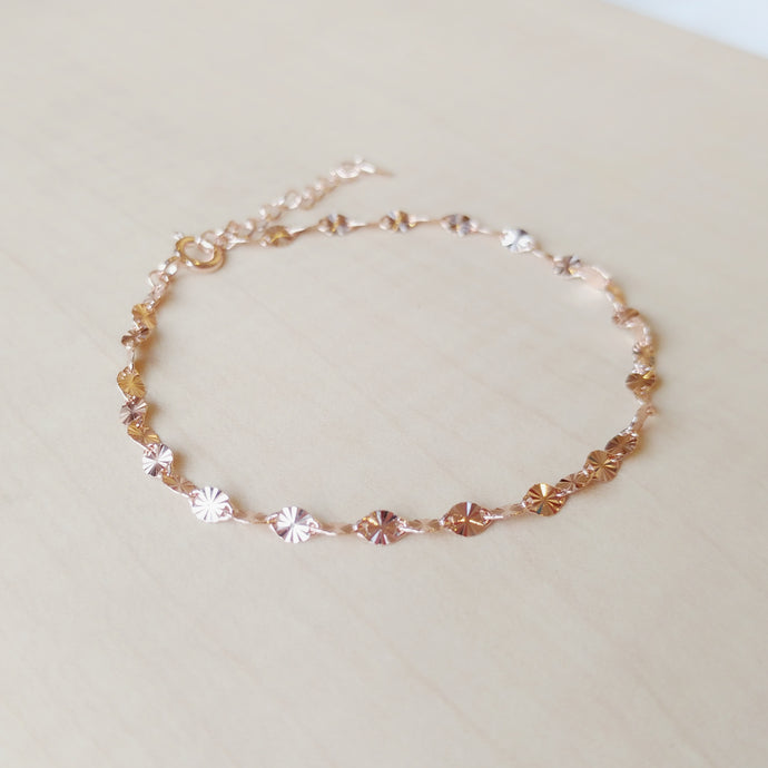 Carolina Rose Gold Bracelet,  - Thoughts Accessories