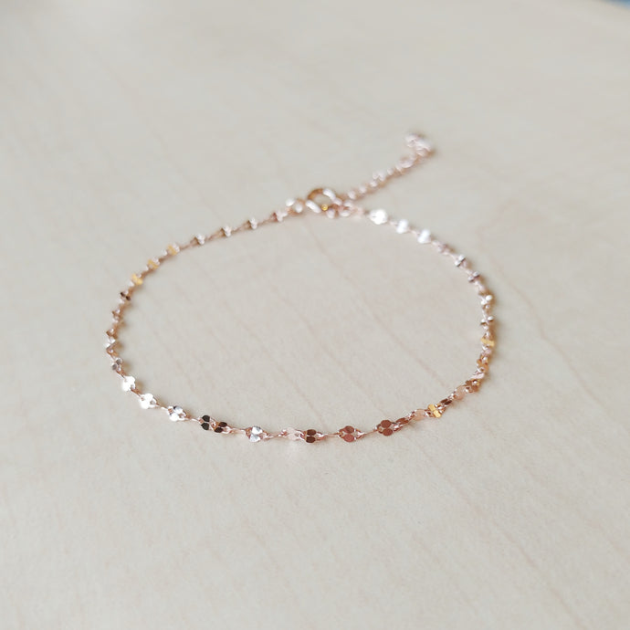 Peace Rose Gold Bracelet, Bracelets - Thoughts Accessories