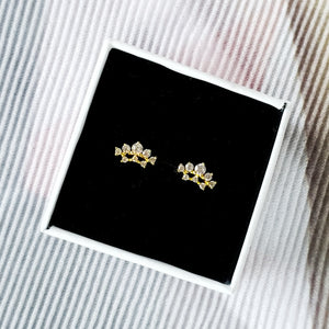 Tiara Earrings, Earrings - Thoughts Accessories