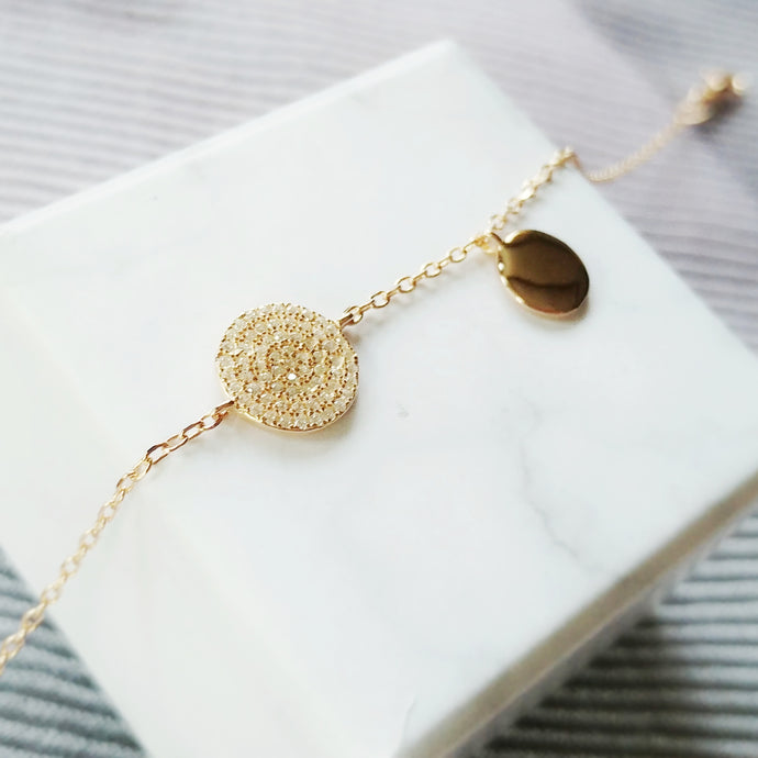 Shimmer Anklet, Anklets - Thoughts Accessories