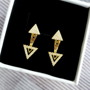 Connect Earrings, Earrings - Thoughts Accessories