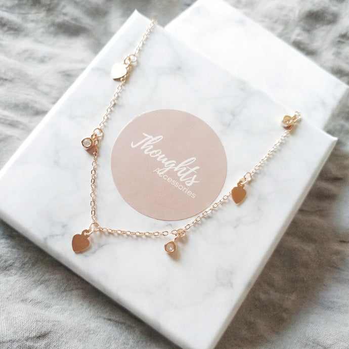 Mode Choker Necklace, Necklaces - Thoughts Accessories