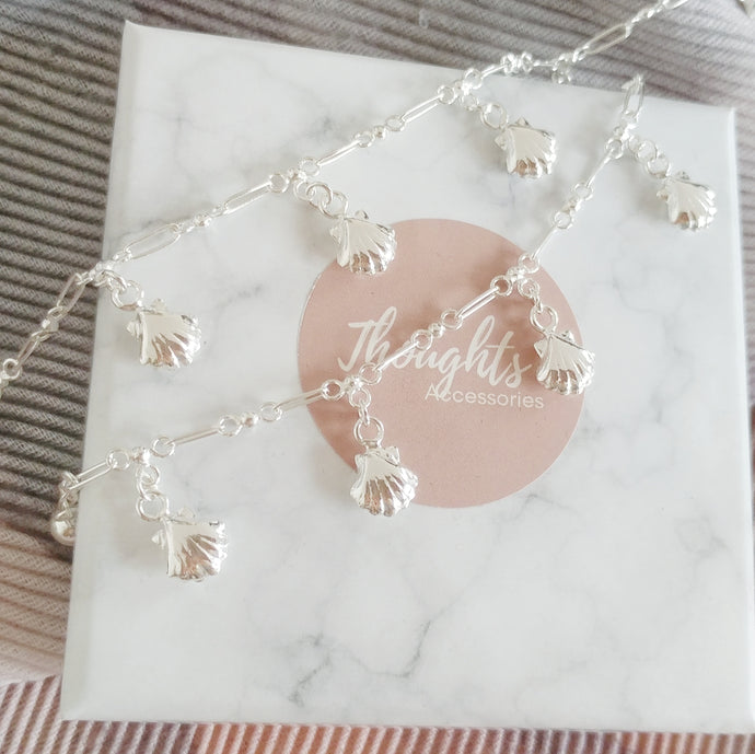 Memories by the Beach Mother & Daughter Matching Bracelets - Thoughts Accessories